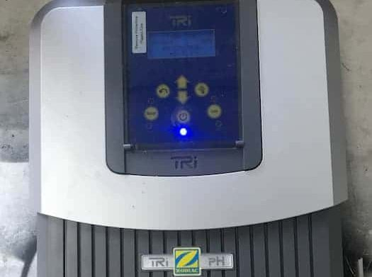 Zodiac Tri Salt chlorinator controller