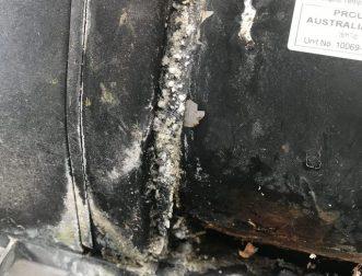 Leaking pool pump,mechanical seal failure