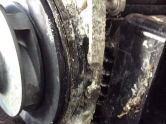 Pool pump corrosion