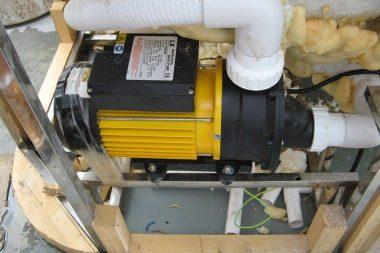 Whirlpool Spa pump
