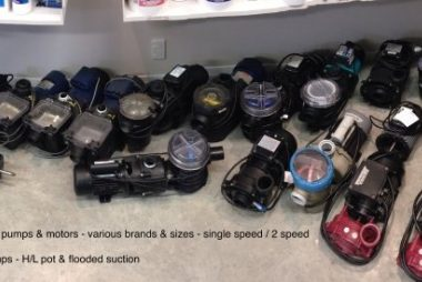 Reconditioned pool pumps