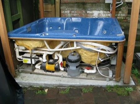 Spa pool equipment